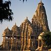 L1965 Kandariya Mahadeva Temple. Between the 9th and 13th centuries, over 150 temples were build at Khajuraho