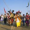 L1801 Parade. Kumbha Mela, Allahabad