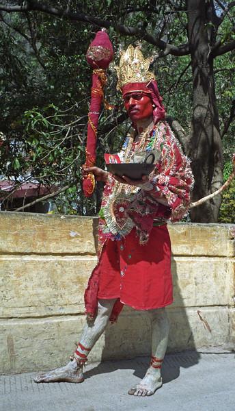 L0998 Honoring Hanuman
