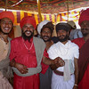 L2120 Sadhu buddies, in akhara compound.