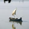 L1858 Ganges River sand boat, Allahabad