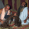 L2099 Teacher with 28 feet of hair. 2001 Kumbha Mela, Allahabad