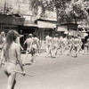 L2183 Nagas in parade. No loin cloth after 12 years as a naga. 1998 Kumbha Mela, Hardwar