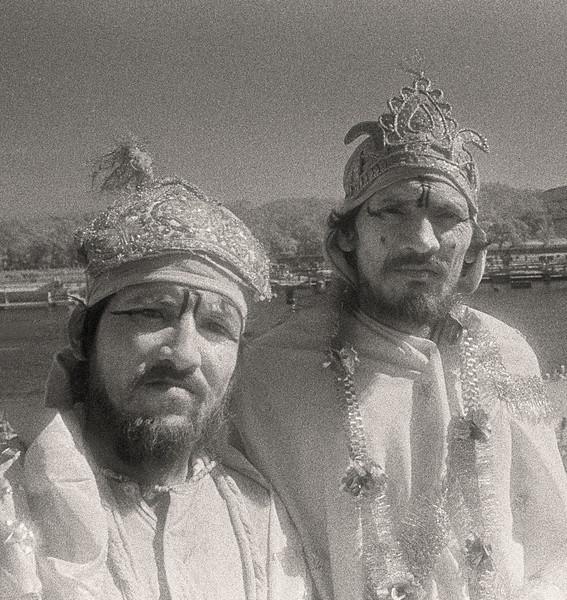 L2491 Hanumans honoring. infrared