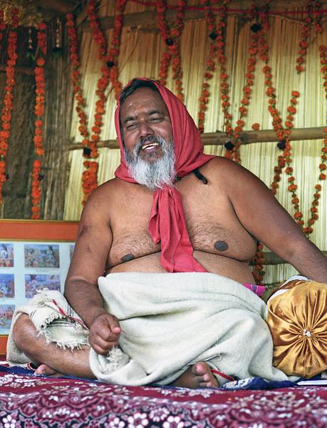 L2138 Tapasvi Baba, akhara leader. 2001 Kumbha Mela, Allahabad