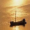 L1848 Ganges River sand boat, Allahabad