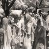 L2191 Pilgrims. 1998 Kumbha Mela, Hardwar. infrared