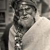 L2619 Sadhu in burlap