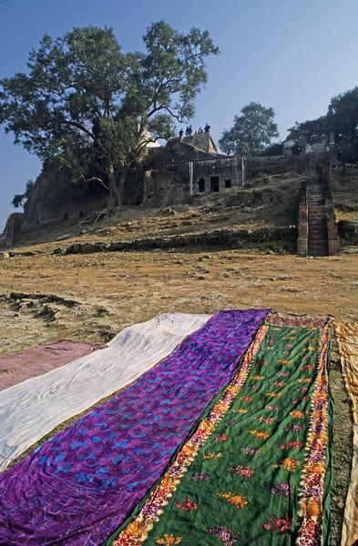 L1328 Drying saris
