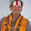 L1989 Vaishnava sadhu (vertical tilak on forehead)