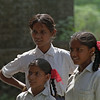 School kids from leper families