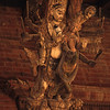 L1468 Kathmandu wood sculpture