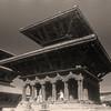 L2497 Patan architecture. infrared