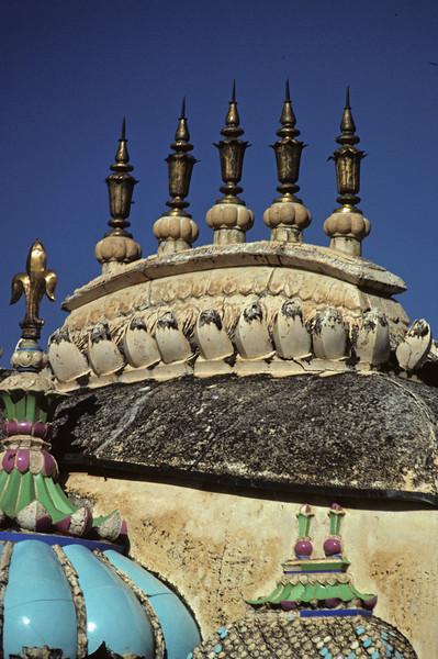 L1364 Amber Fort detail. Jaipur.