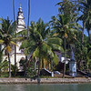L3019 Christian church in Backwaters area, Trivandrum, Kerala