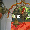 L2485 Temple bells, Virbhadra Temple, Rishikesh