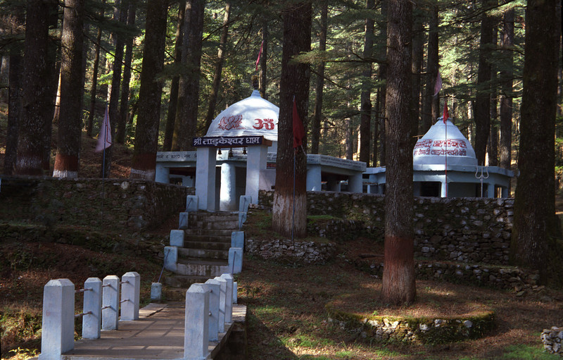L2382 Shiva and Divine Mother temples at Tarkeswar