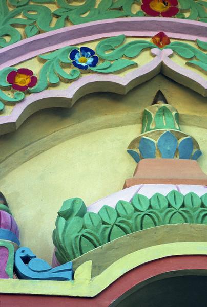 L1621 Wall design. Shivanananagar, Rishikesh