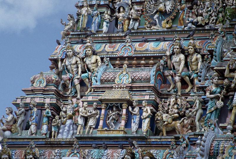 L1407 Southern style temple, Chennai