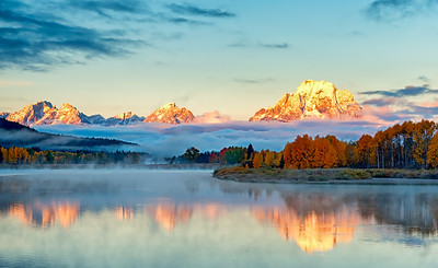 Fall Color at Teton's Oxbow Bend #2