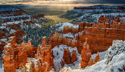 Bryce Canyon Winter Sunrise #2