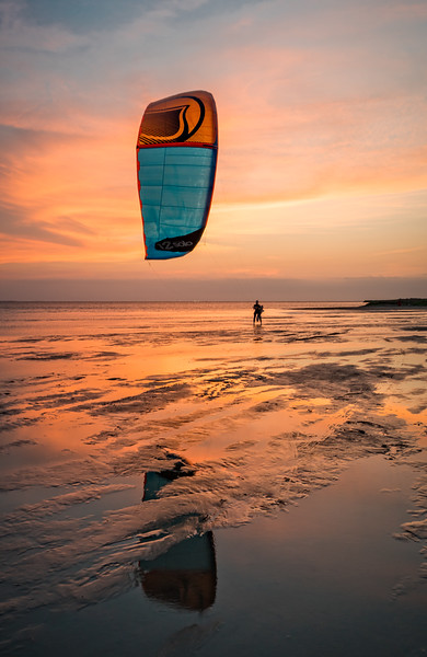 Last Kiteboarder Out