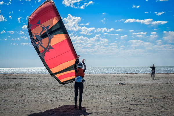 Kiteboard Launch