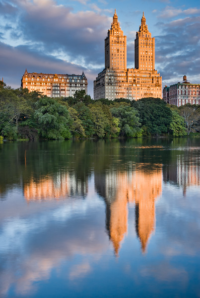 Central Park Reflections NYC
