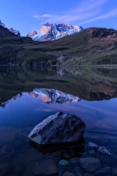 Reflections on Torres del Paine