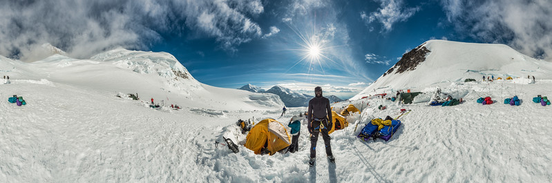 AN AMERICAN ASCENT: Dangerous Camp