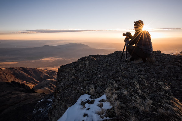 Photographer at Dawn