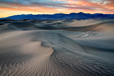 Mesquite Dunes at Sunsets