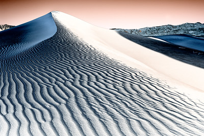 Mesquite Sand Dunes (Solarized Rendition)