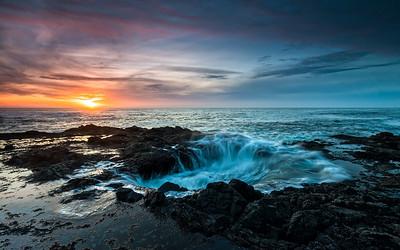 Oregon Coast - Thor's Well #2