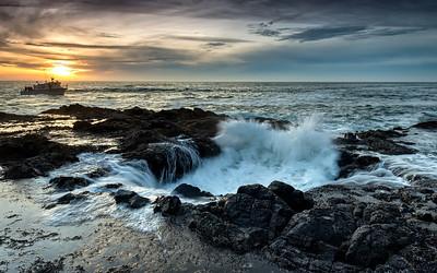 Oregon Coast - Thor's Well #1