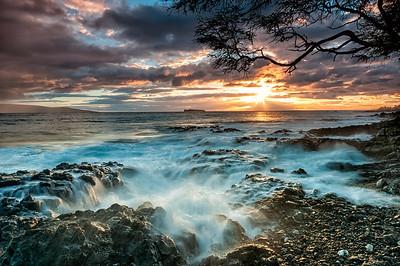 Ahihi Bay Sunset
