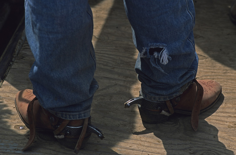 L6402 Boots and spurs.