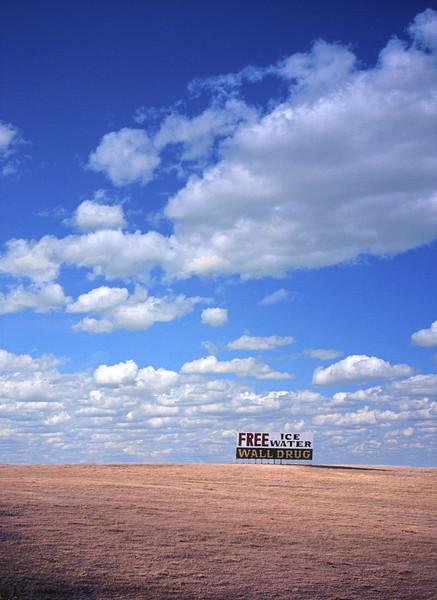 L6372 Wall Drug. For decades, a landmark on the South Dakota plains