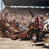 L7014 Combine demolition derby. North Dakota State Fair, Williston