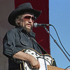 L6376 Waylon Jennings. North Dakota State Fair, Williston. Photo by Carole Olson