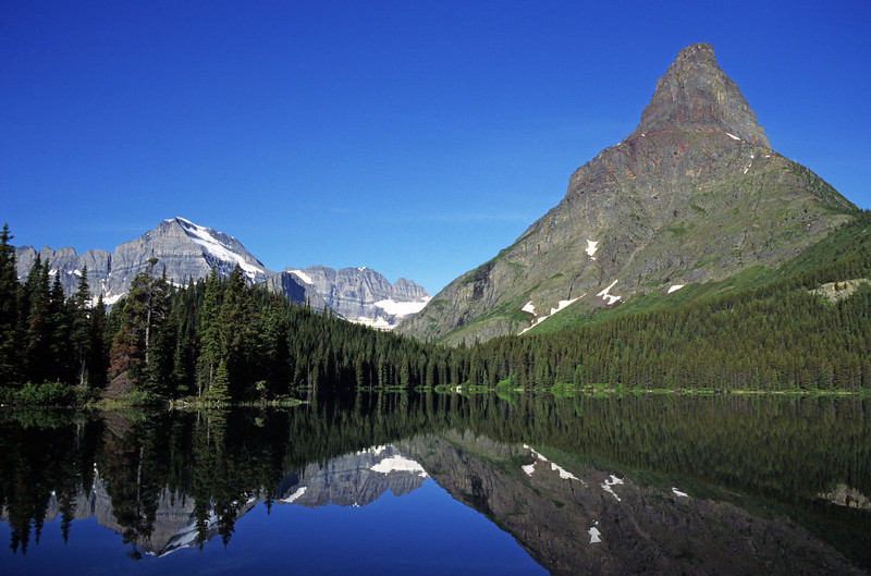 L6330 Grinnell Peak, Swiftcurrent Lake, Many Glacier area