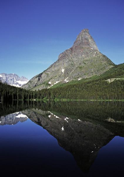 L6339 Grinnell Peak, Swiftcurrent Lake