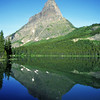 L6163 Grinnell Peak, Swiftcurrent Lake, Many Glacier area
