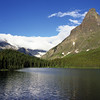 L6321 Grinnell Peak, Swiftcurrent Lake, Many Glacier area