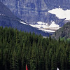 L6323 Swiftcurrent Lake with sailboats, Grinnell Glacier