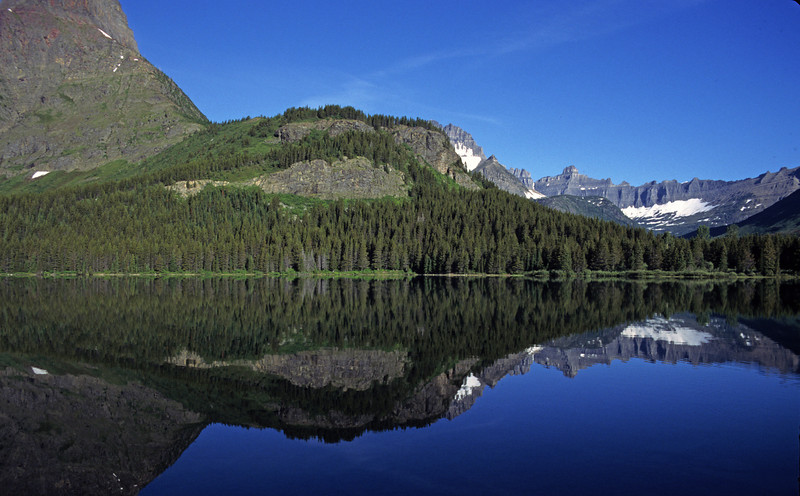 L6327 Swiftcurrent Lake, Many Glacier area