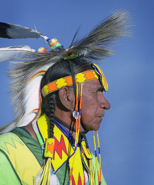 L6447 Native American Pow Wow, North American Indian Days, Browning, Montana