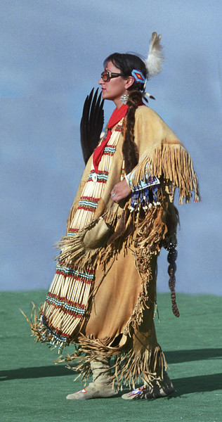 L6452 Native American Pow Wow, North American Indian Days, Browning, Montana