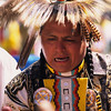L6397 Drummer, Native American Pow Wow, North American Indian Days, Browning, Montana