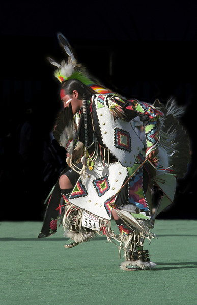L6444 Native American Pow Wow, North American Indian Days, Browning, Montana